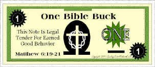 Bible Bucks Template Bible Bucks Classroom Incentive for Good Behavior