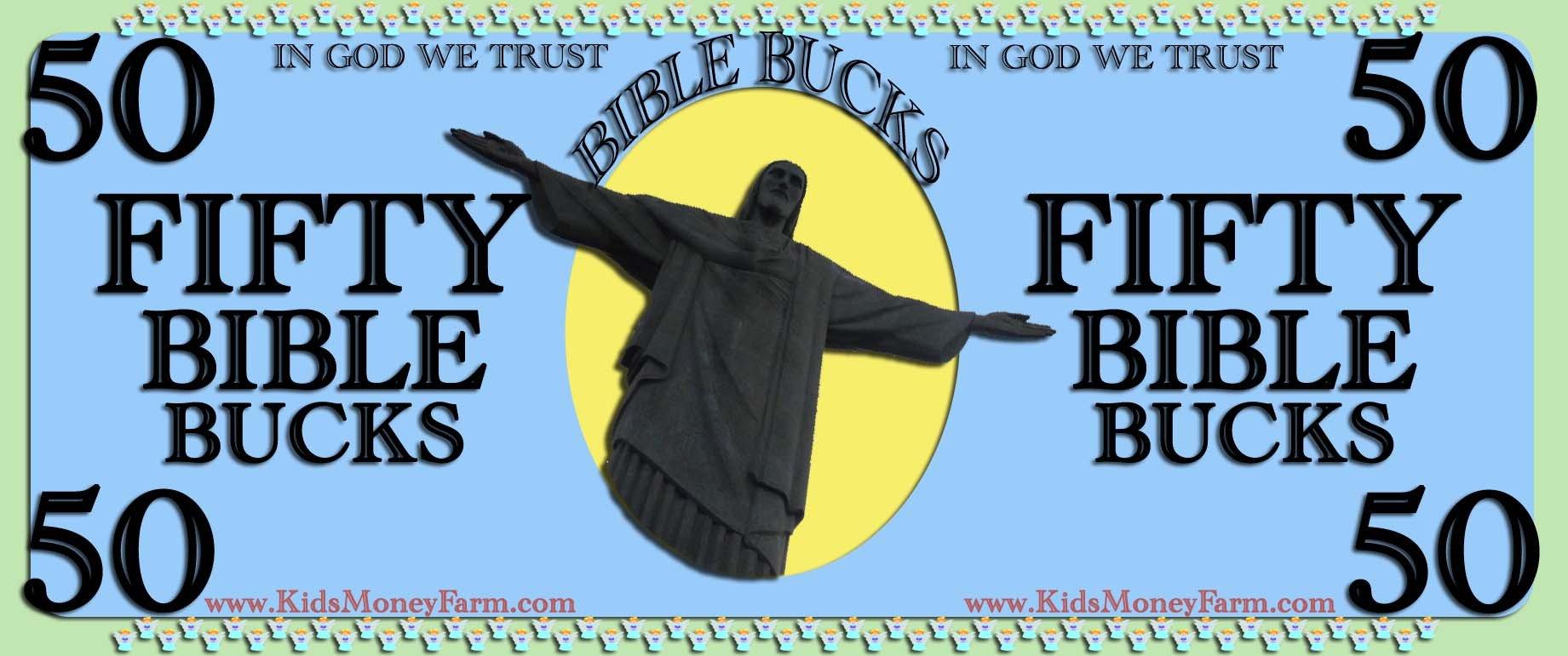 Bible Bucks Template Bible Bucks for Sunday School Kids Ministry Church – Play