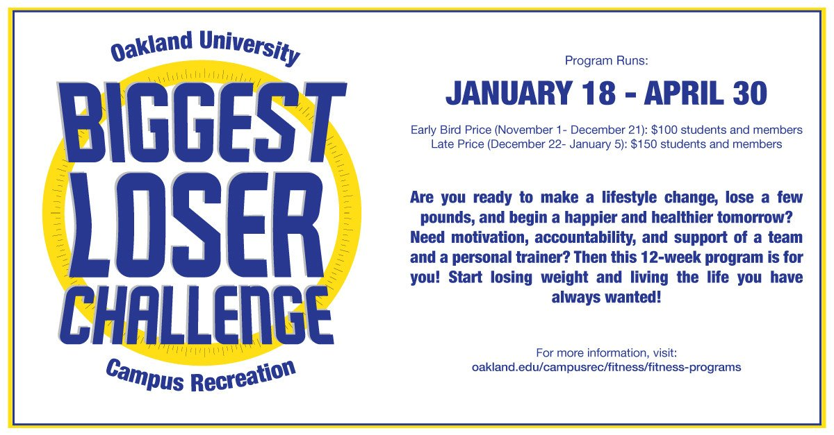 Biggest Loser Certificate Template Thisisoucampusrec the Biggest Loser Challenge