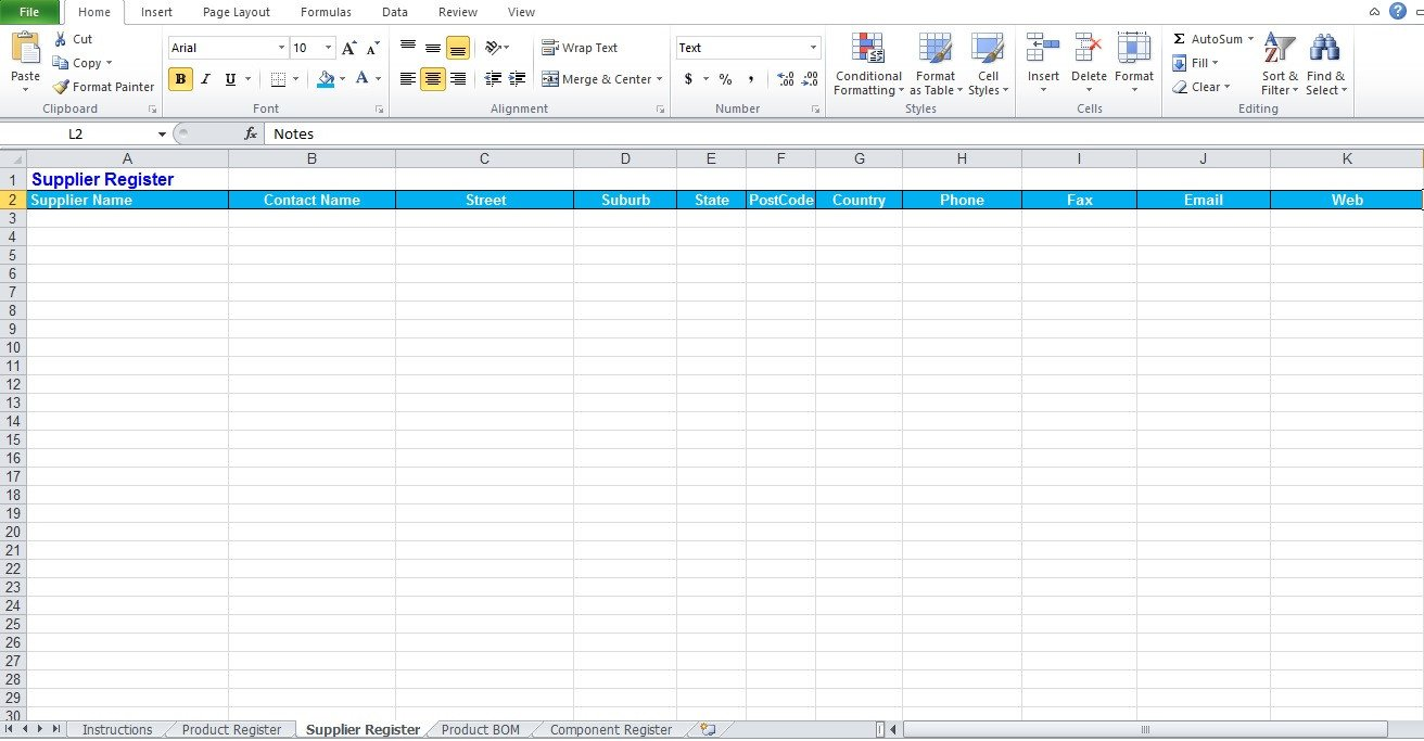 Bill Of Materials Excel Template Bill Of Materials Template Free Excel Tmp