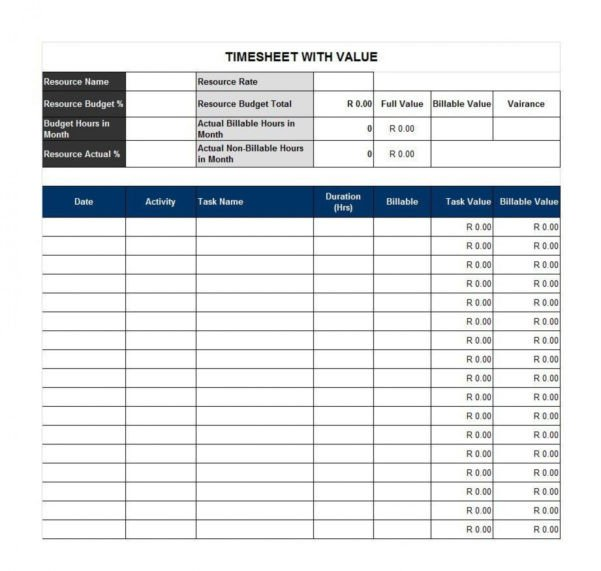 Billable Hours Template Excel Free Billable Hours Spreadsheet Template Google Spreadshee Free