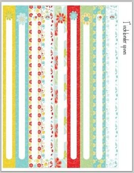 Binder Spine Template 1 Inch 1000 Ideas About Binder Spine Labels On Pinterest