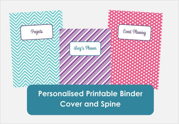 Binder Spine Template 1 Inch Sample Binder Spine Template 5 Documents In Pdf Psd