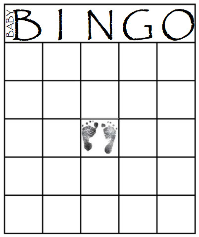 Bingo Card Template Free 49 Printable Bingo Card Templates Baby Shower