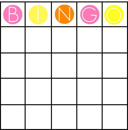 Bingo Card Template Free 49 Printable Bingo Card Templates Tips
