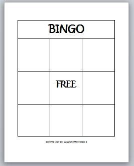 Bingo Card Template Free Learning Ideas Grades K 8 2 D Shapes Bingo for Kids