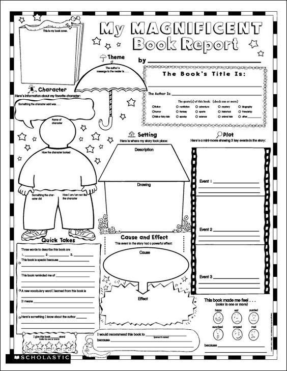 Biography Book Report Template Printable Book Report Many Students Don T Know where to