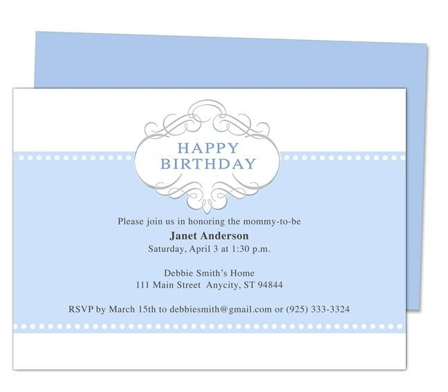 Birthday Invitation Templates Word Prince 1st Birthday Invitation Templates Edits with Word