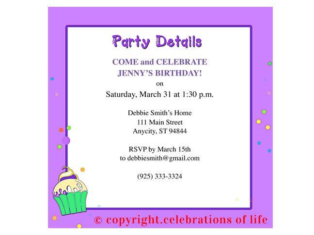 Birthday Party Program Outline 7 Best Of Free Printable Birthday Program Templates
