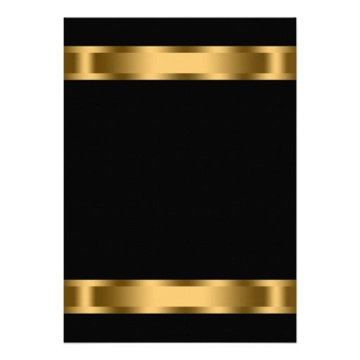 Black and Gold Invitation Template 29 Of Blank Template Pink Blackand Gold