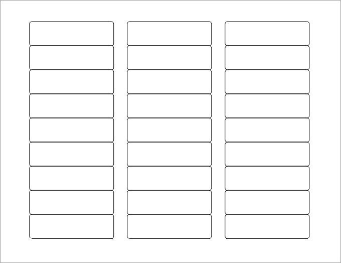 Blank Address Label Template Blank Labels Blank Label Template