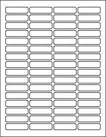 "Blank Address Label Template Return Address Labels File Labels Ol1050 1 813"" X 0 5"""