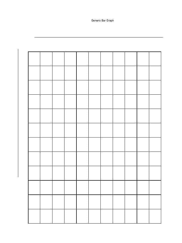 Blank Bar Graph Template 41 Blank Bar Graph Templates [bar Graph Worksheets]