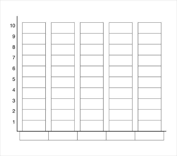 Blank Bar Graph Template Bar Graph Template for Elementary Students