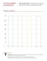 Blank Bar Graph Worksheets Blank Bar Graph for Kids