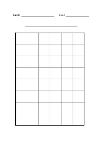 Blank Bar Graph Worksheets Blank Block Graph Worksheet by Lawood0 Uk Teaching