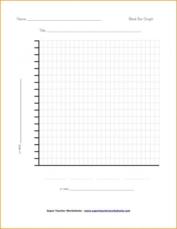 Blank Bar Graph Worksheets Line Graphs Template solar System