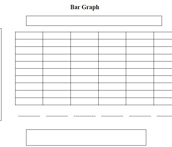Blank Bar Graph Worksheets Printable Bar Charts