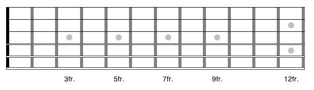 Blank Bass Fretboard Diagram How to Learn the Guitar Fretboard