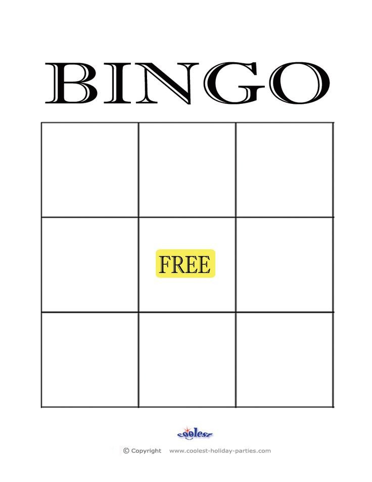 Blank Bingo Card Template Best 25 Blank Bingo Cards Ideas On Pinterest
