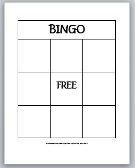 Blank Bingo Card Template Learning Ideas Grades K 8 2 D Shapes Bingo for Kids