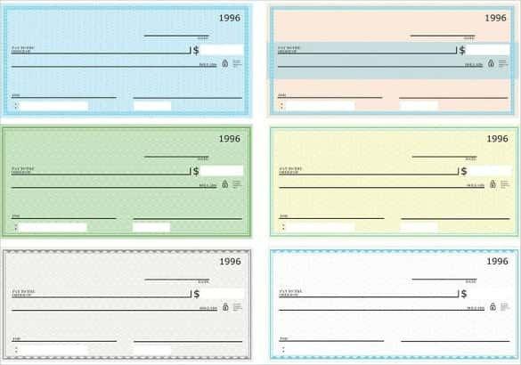 Blank Check Template Pdf 24 Blank Check Template Doc Psd Pdf & Vector formats