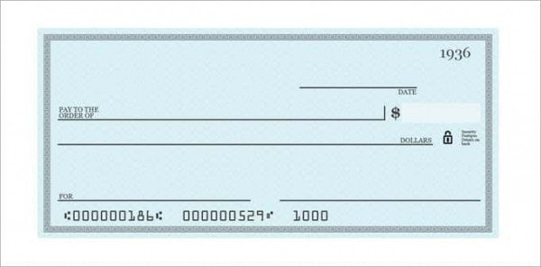 Blank Cheque Template Editable 26 Blank Check Template Doc Psd Pdf & Vector formats