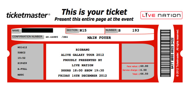 Blank Concert Ticket Template 26 Cool Concert Ticket Template Examples for Your event