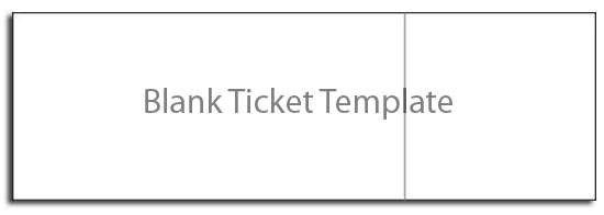 Blank Concert Ticket Template 28 Free Ticket Templates & Psd Mockups Xdesigns