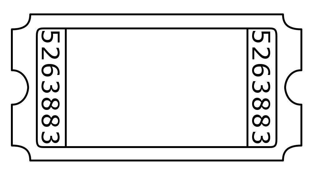 Blank Concert Ticket Template Blank Admission Ticket by Janettebernard On Deviantart