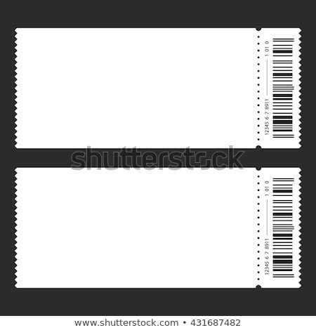 Blank Concert Ticket Template Blank Ticket Stub Stock S &