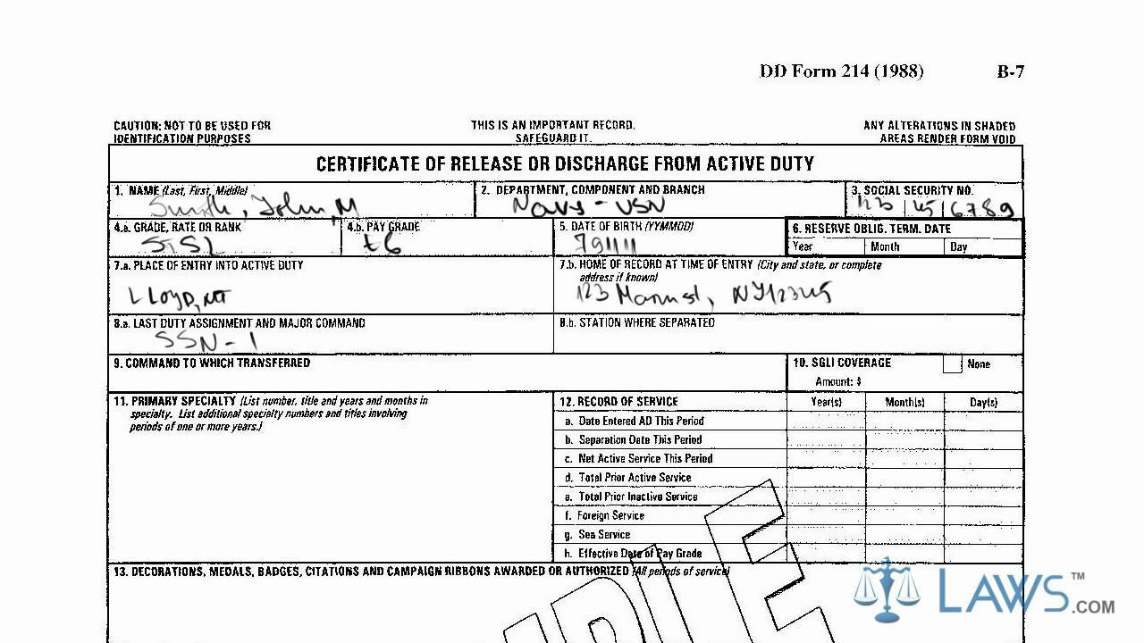 Blank Dd214 form Download Learn How to Fill the Dd 214 form Certificate Of Release