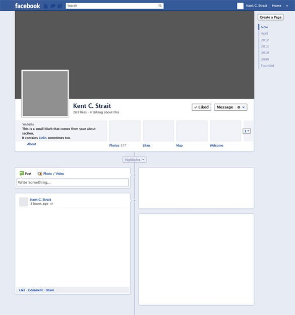 Blank Facebook Profile Template 8 Amazing Blank Templates – Free Samples