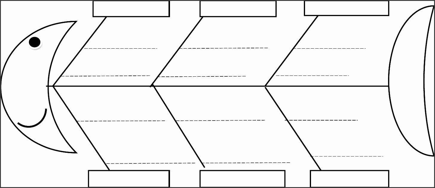 Blank Fishbone Diagram Template 5 Line Fishbone Diagram Maker Sampletemplatess