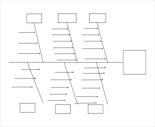 Blank Fishbone Diagram Template Word 11 Free Ms Word 2010 Diagram Templates Download