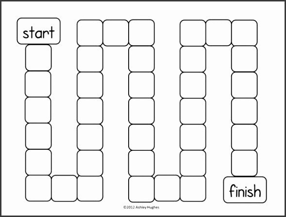 Blank Game Board Template 7 Blank Board Game Template Printable Sampletemplatess