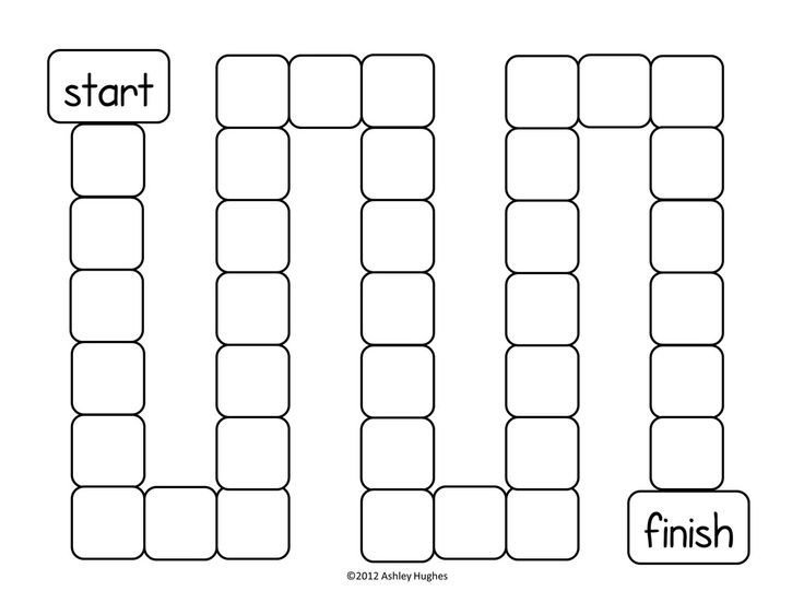 Blank Game Board Template Blank Board Game Template Printable Gameboards