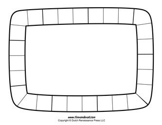 Blank Game Board Template Blank Board Game Template Printables