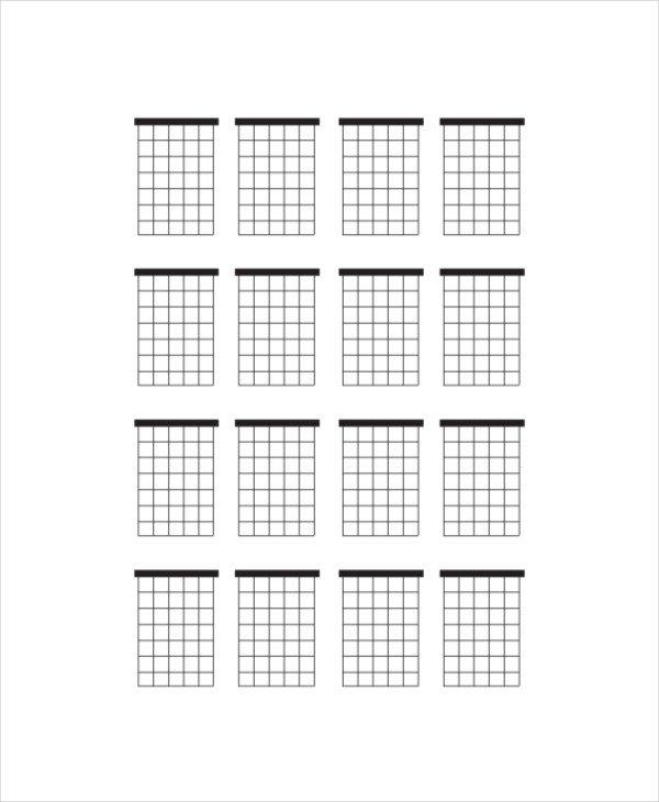 Blank Guitar Chord Chart Blank Guitar Chord Chart Template 5 Free Pdf Documents