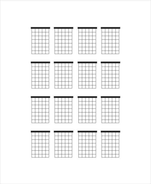 Blank Guitar Chord Sheet Blank Guitar Chord Chart Template 5 Free Pdf Documents