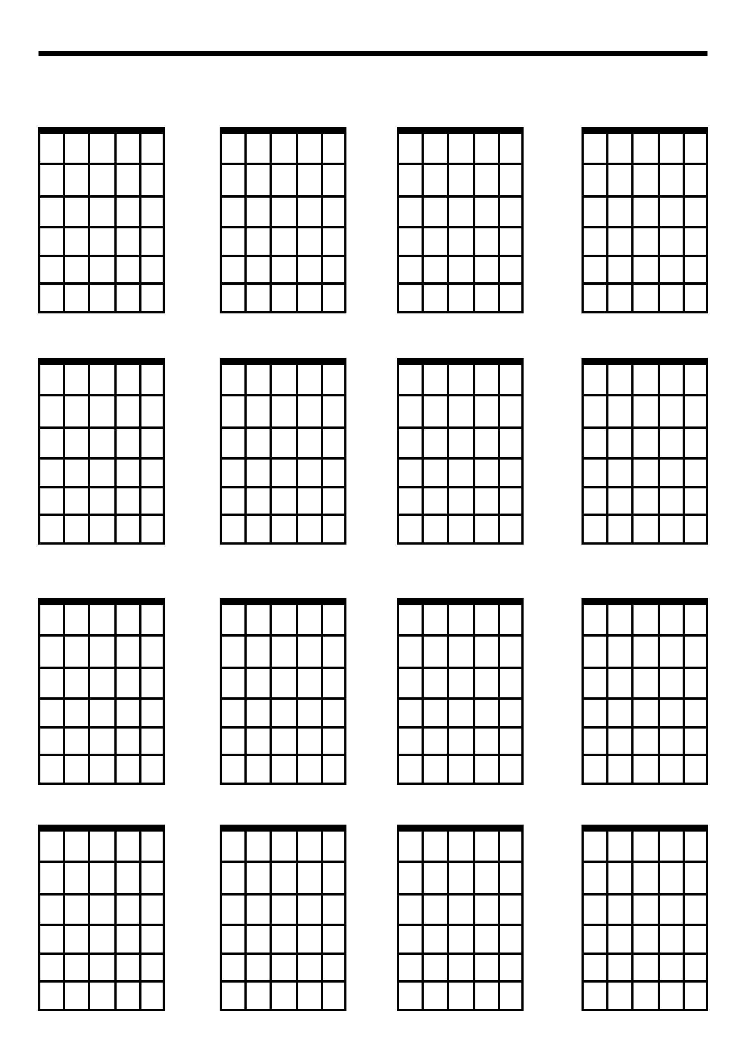 Blank Guitar Chord Sheet Steveforward Free Line Guitar Lessons