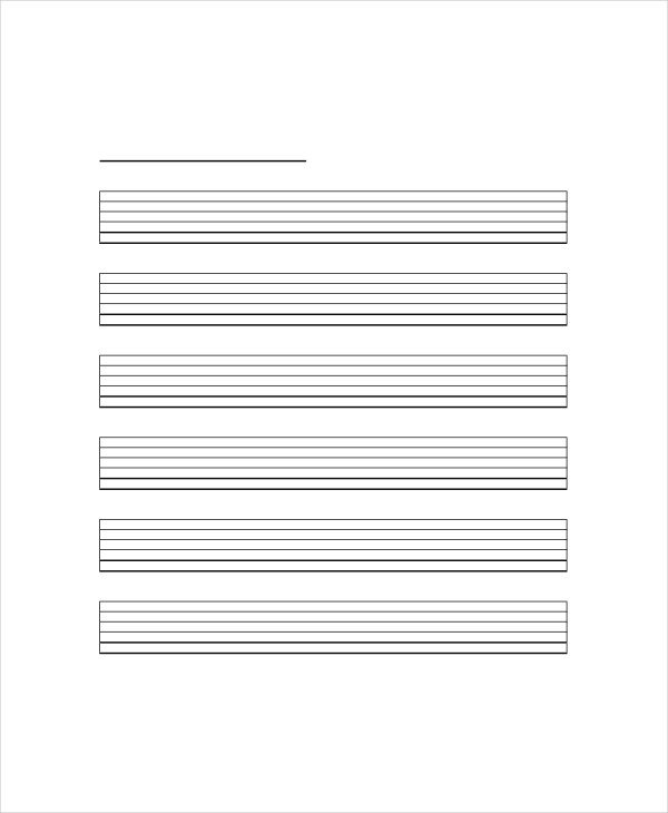 Blank Guitar Tab Sheets Blank Guitar Chord Chart Template 5 Free Pdf Documents