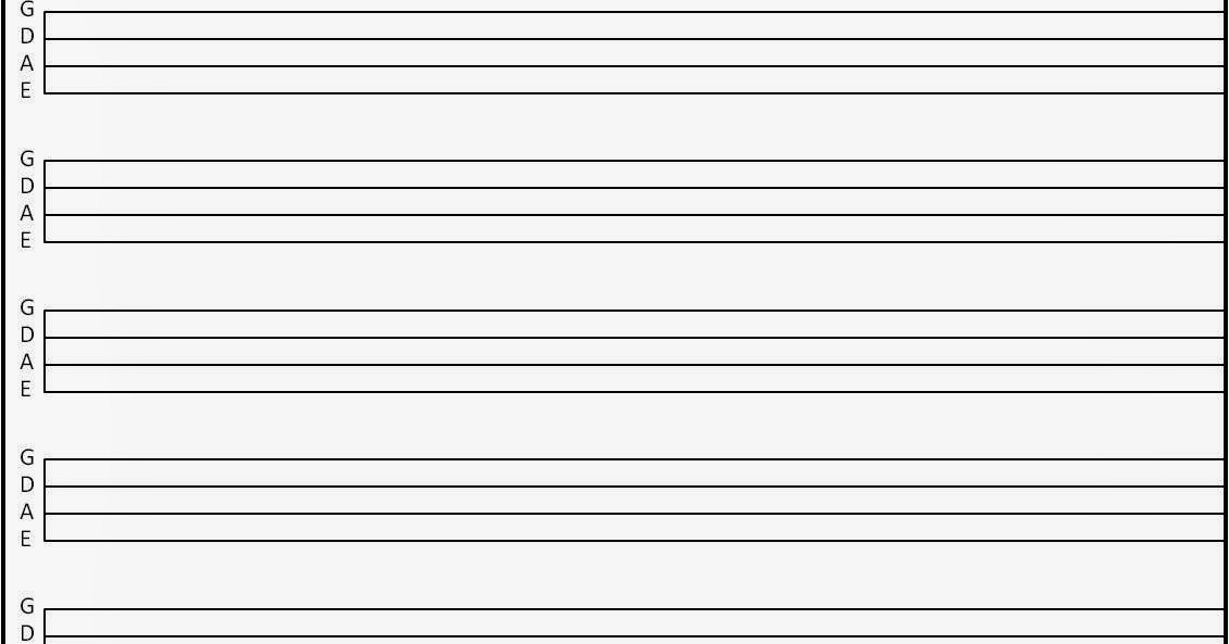 Blank Guitar Tab Sheets [mattwins] More Blank Tab Sheets