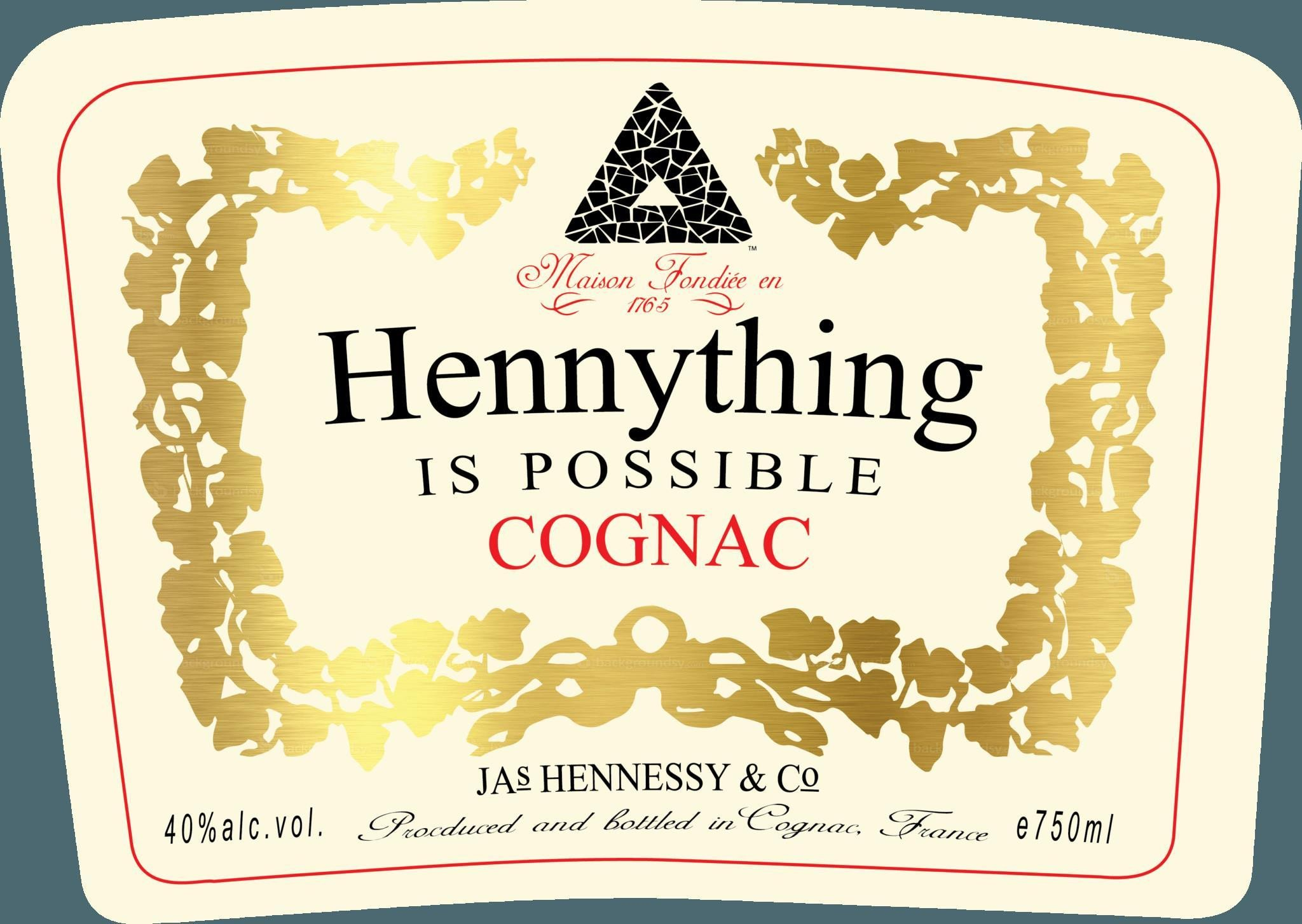 Blank Hennessy Label Hennessy Label Template Free Download Printables Race