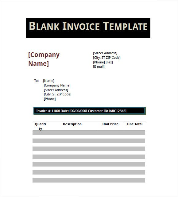 Blank Invoice Template Pdf 16 Basic Invoice Templates Google Docs Apple Pages Pdf