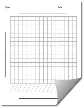 Blank Line Graph Template Blank Line Graph Template by Hashtag Teached