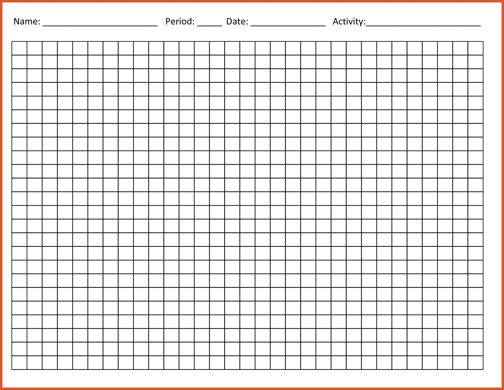 Blank Line Graph Template Line Graph Template Printable