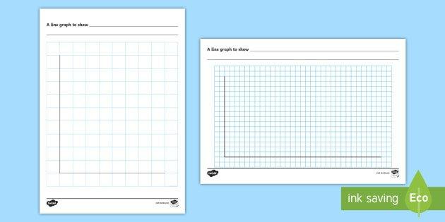 Blank Line Graph Template Line Graph Template Worksheet Activity Sheet Handling Data