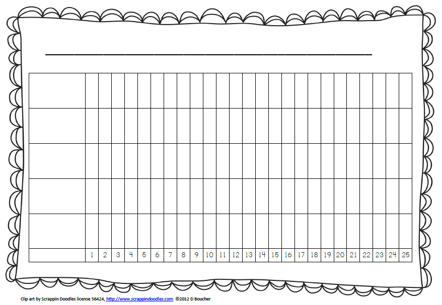 Blank Line Graph Template More Options for Daily Graphing Math Coach S Corner