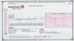 Blank Money order Template forms Of Payments Accepted – Golodoff Media Services